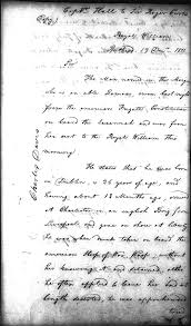 Authorization Letter British Council The War Of 1812 Stoking The Fires National Archives