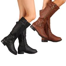womens boots for flat flat heel leather boots national sheriffs association