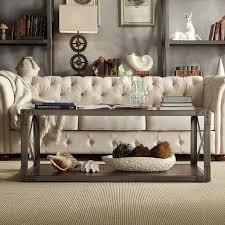 weston home rectangle coffee table gray hayneedle