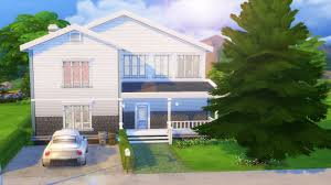 the sims 4 house building base game house youtube