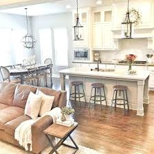 paint ideas for open living room and kitchen open concept kitchen living room small dining house plans