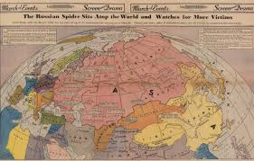 World Map 1940 by New Visions From Old Maps Stanford 125