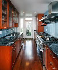 galley kitchen remodel kitchen traditional with cherry cabinets