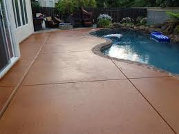 Covering Old Concrete Patio by How To Apply Multi Color Concrete Stain 8 Steps With Pictures