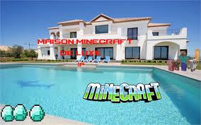 Maison Modern Minecraft by Construire Une Belle Piscine Minecraft Youtube