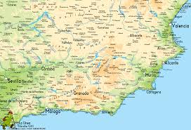 Santander Spain Map by Map Of Southern Spain Imsa Kolese