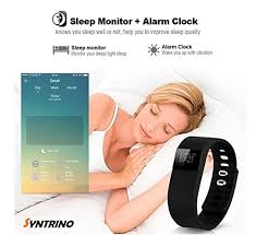 iphone sleep monitor bracelet images Syntrino smart fitness band sports bracelet wristband fitness jpg