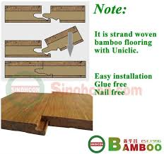 quietly brilliant strand woven click lock bamboo flooring view