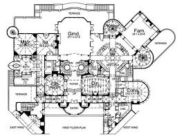 luxury mansion house plans house plans mansion home plans