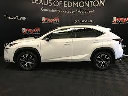 lexus nx turbo used used 2016 lexus nx 200t 4 door sport utility in edmonton ab l13487a