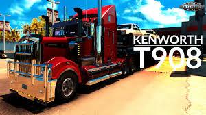 kenworth technical support kenworth t908 interior v6 0 v1 6 x american truck simulator