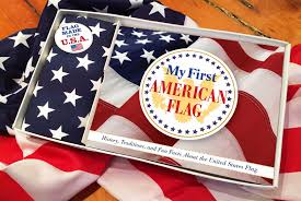 Flag Etiquette My First American Flag Book By Applesauce Press Official