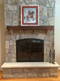 decor reface a brick fireplace fireplace refacing