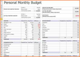 10 monthly expenses spreadsheet template excel spreadsheets group