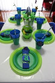 Buzz Lightyear Centerpieces by Buzz Lightyear Birthday Party Buzz Lightyear Baby Shower Ideas