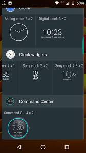digital clock widget apk xperia clock widget apk no root required droidvendor