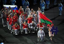 belarusian who carried russian flag in rio will be presented with