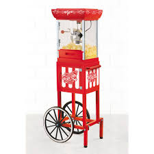 Home Depot Cart by Nostalgia Vintage 2 5 Oz Popcorn Machine And Cart Ccp399 The
