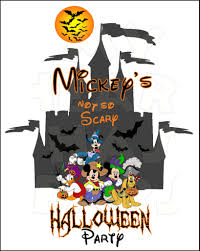 halloween scary clipart mickey u0027s not so scary halloween party 2 instant download digital