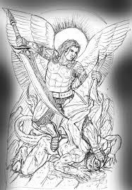 archangel michael tattoo stencil tattoos book