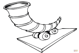 empty cornucopia coloring page free printable coloring pages
