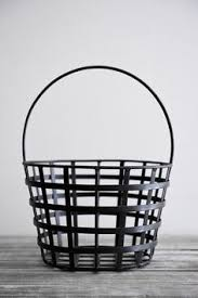 wrought iron metal double wall baskets planters iron wall