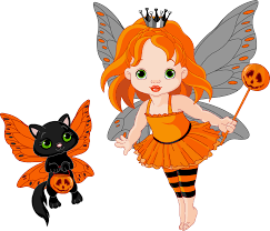 halloween cats transparent halloween fairy and cat 0 cliparts clipartix clip