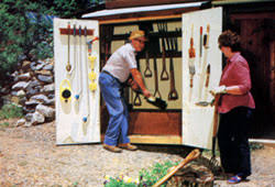mother u0026 39 s homemade garden toolshed do it yourself mother