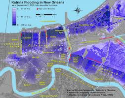 New Orleans Flood Zone Map by Hurricane Katrina Migration Where Did People Go Where Are They