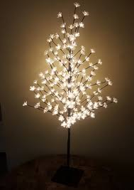hi line gift ltd outdoor 200 warm led lights cherry blossom tree