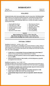 4 social worker resume examples janitor resume