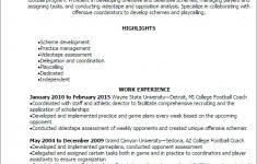 coaching resume template coaching resumes sample coaching resume