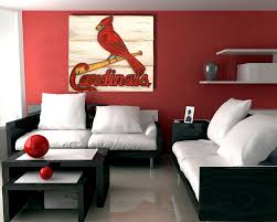 Home Decor Wall Art Saint Louis Cardinals Handmade Distressed Wood Sign Vintage Art