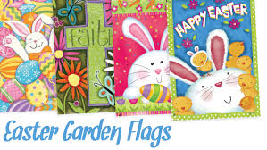 Monogram Garden Flag Easter Garden Flags