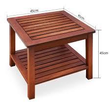 fabricant mobilier de jardin table d u0027appoint vorgeölt bois d u0027acacia table de jardin table basse