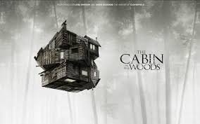 the cabin in the woods on the