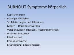 immunschwäche symptome burnout zwischen leistungssteigerung und erschöpfungszustand dr