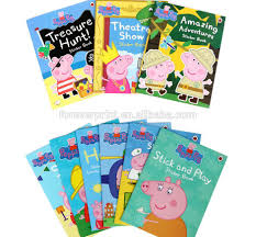 yiwu cheap children kids sticker book printing peppa pig sticker