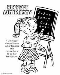 scout law coloring book scout daisy petal coloring