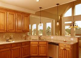 Krylon Transitions Kitchen Cabinet Paint Kit by Ceramic Tile Countertops Kitchen With Oak Cabinets Lighting