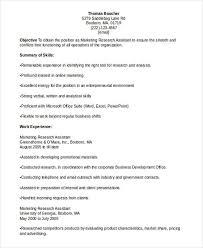 Marketing Assistant Resume 41 Best Marketing Resume Free U0026 Premium Templates