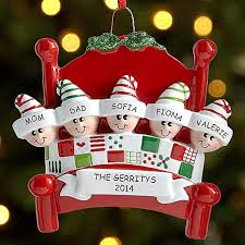 family personalized ornaments rainforest islands ferry