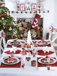 ideas for a beautiful christmas table setting pink peppermint design