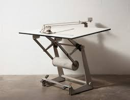Mechanical Drafting Tables Friso Kramer Professional Drafting Table With Counter Weight At