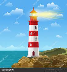 sur l u0027océan ou la mer plage dessin animé fond illustration