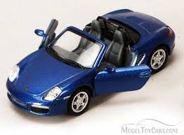 model porsche boxster porsche boxster s convertible blue kinsmart 5302d 1 34 scale