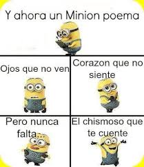 Minions Memes En Espaã Ol - 14 best minion poema images on pinterest minion stuff minions and
