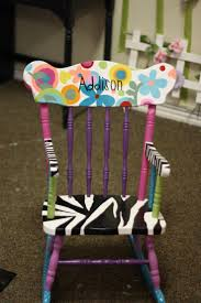 Personalized Toddler Rocking Chair 91 Best Kids Chairs Images On Pinterest Chairs Painted Rocking