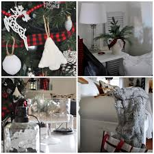Christmas Living Room by Rustic Maple Our Rustic Christmas Living Room 2015