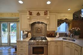tile backsplash medallion kitchen kitchen decorations